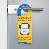 Türanhänger Hygiene Hat Vorfahrt